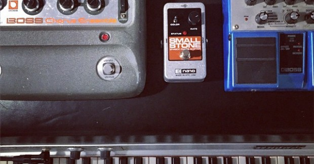 Addicted to chorus. #rhodes #gearporn #keyboards