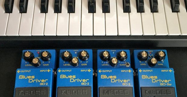 I got a bad case of the blues @bossfx_us @moogmusic