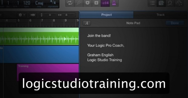 Logic Studio Training Bumper