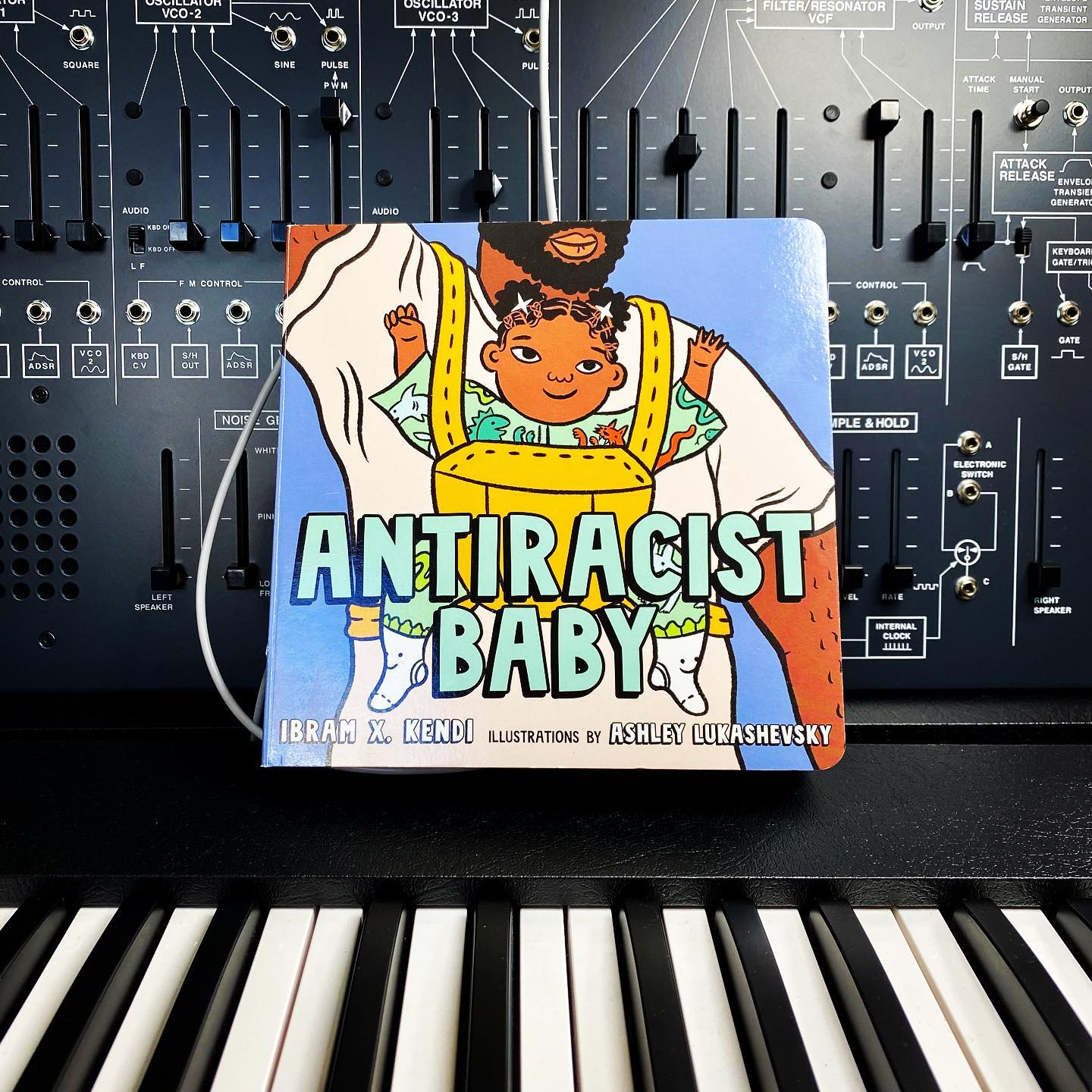 """Antiracist Baby is bred, not born. Antiracist Baby is raised to make society transform."" @ibramxk #antiracistbookclub"