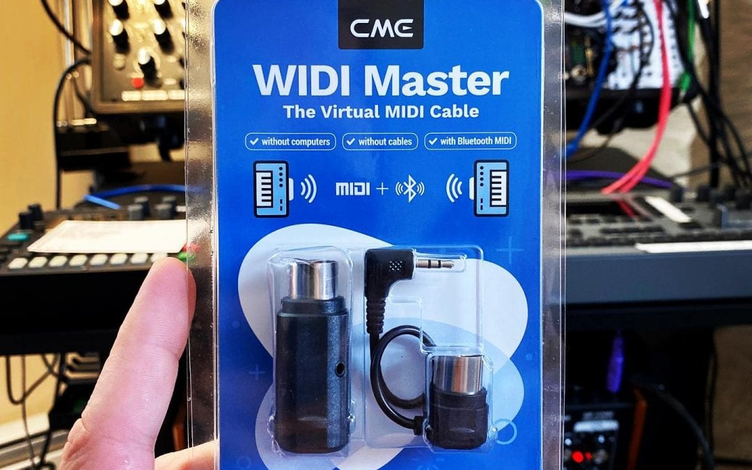 Just arrived: WIDI Master Bluetooth MIDI