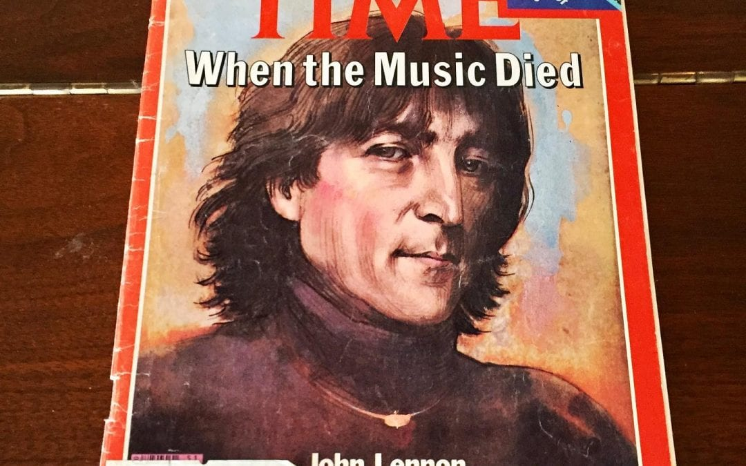 The day John Lennon was murdered
