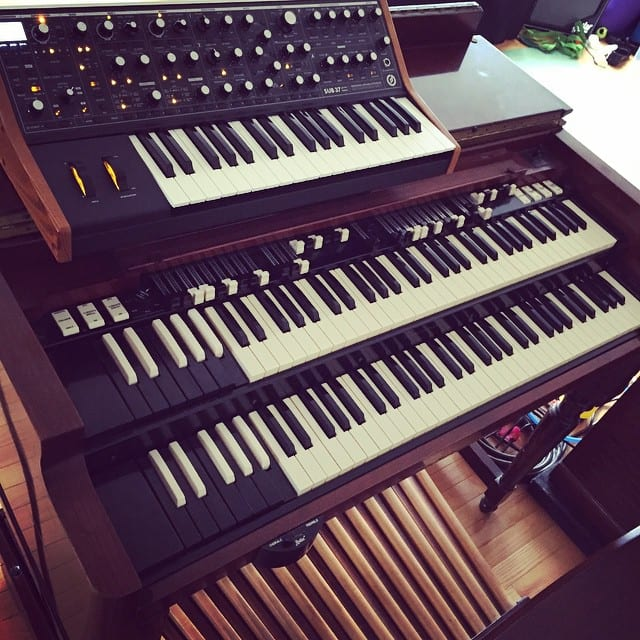 #moog #hammond #b3 #synth #keyboards