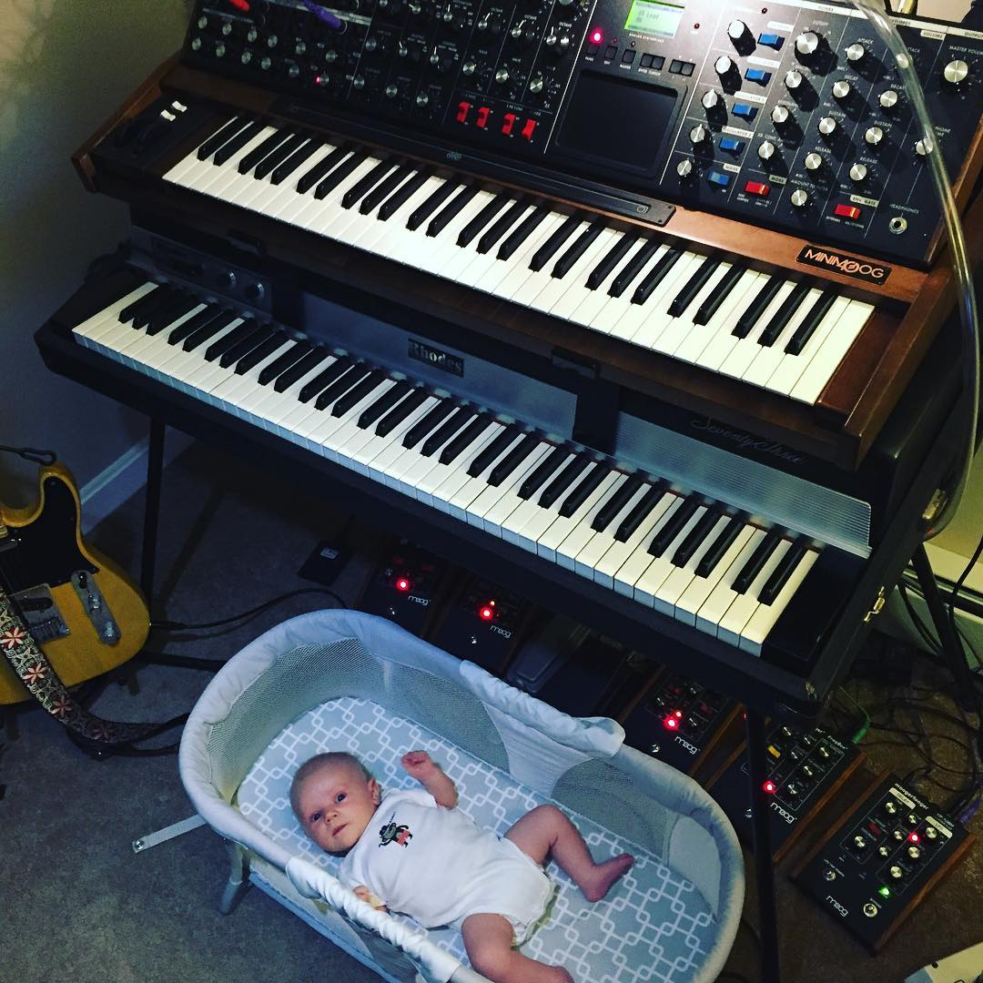 These are a few of my favorite things. 👶🎶😍