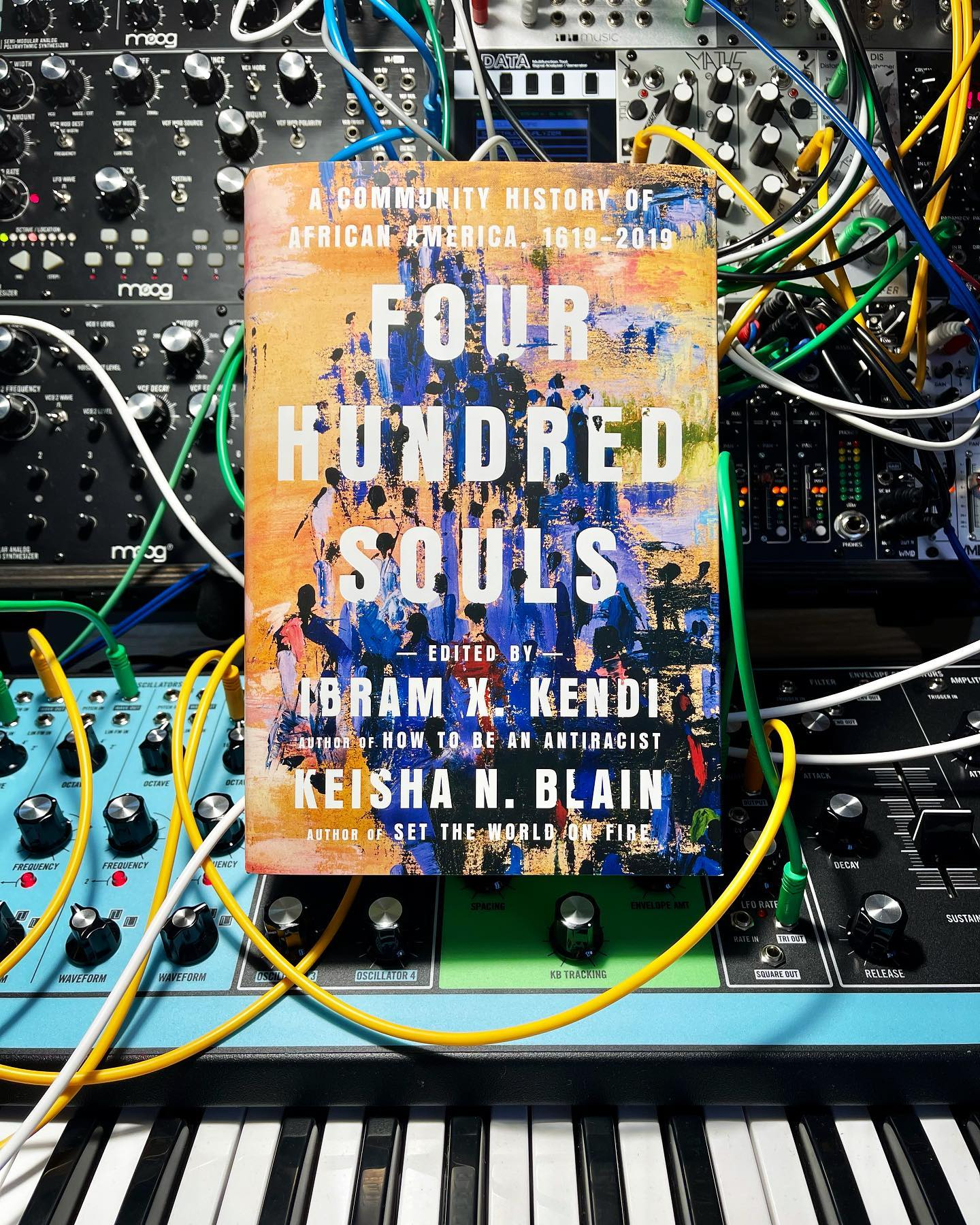 Four Hundred Souls arrived last week by @Ibramxk and @keishanblain #400Souls #BHM