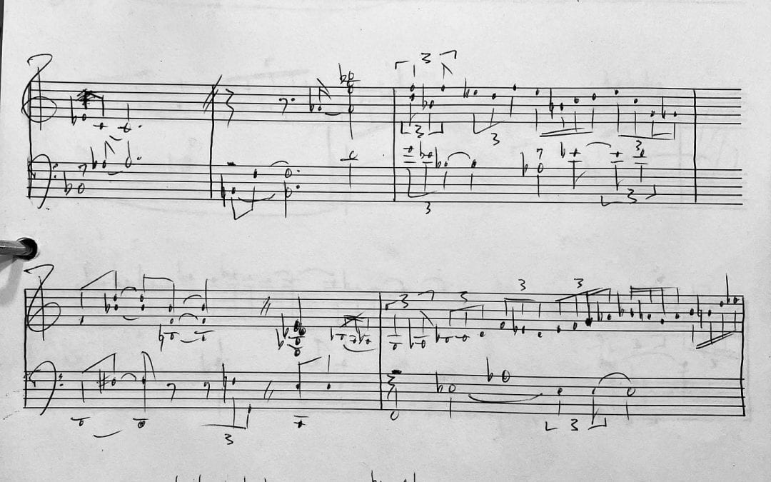 My first Chick Corea transcription