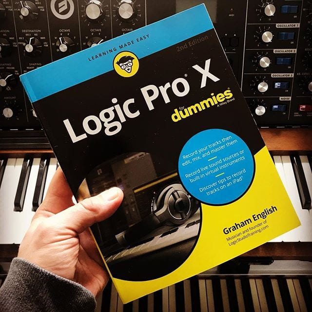 Logic Pro X For Dummies 2nd Edition Pre-Orders Have Started Shipping!