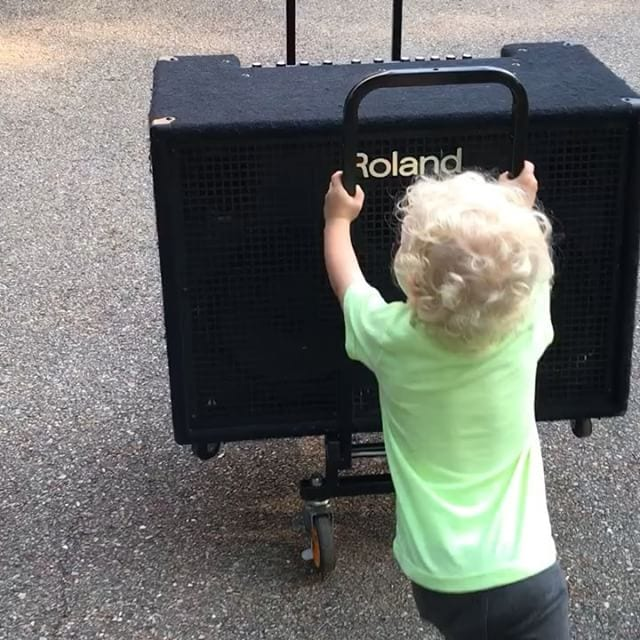 2-Year Old Roadie