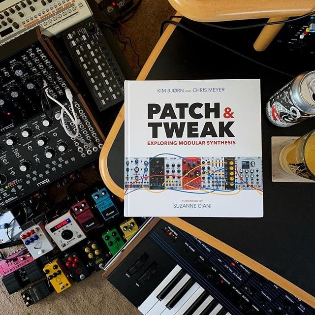 📚 Just arrived @patchandtweak 🎹 Synths and hops @aeronautbrewing