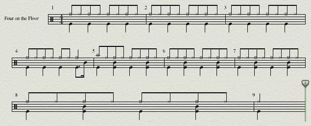 Four-on-the-floor beat