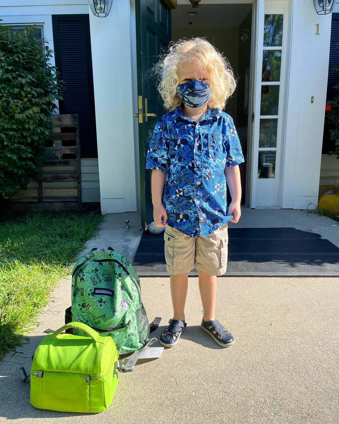 First day of pre-k.