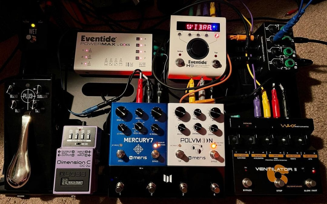 New Stereo Pedalboard