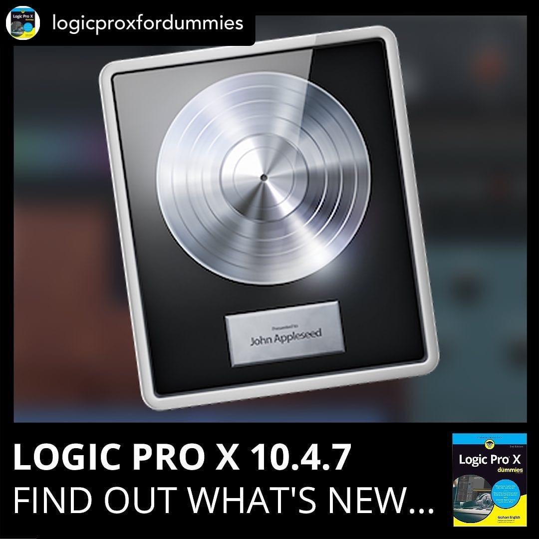 Logic Pro 10.4.7