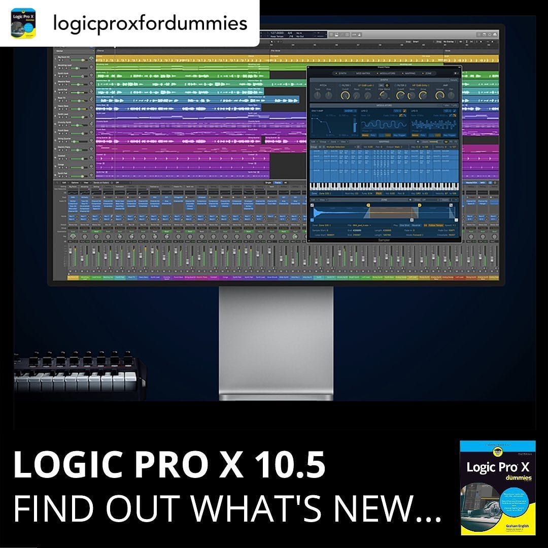 UPDATE: Logic Pro X 10.5! This is a big one!