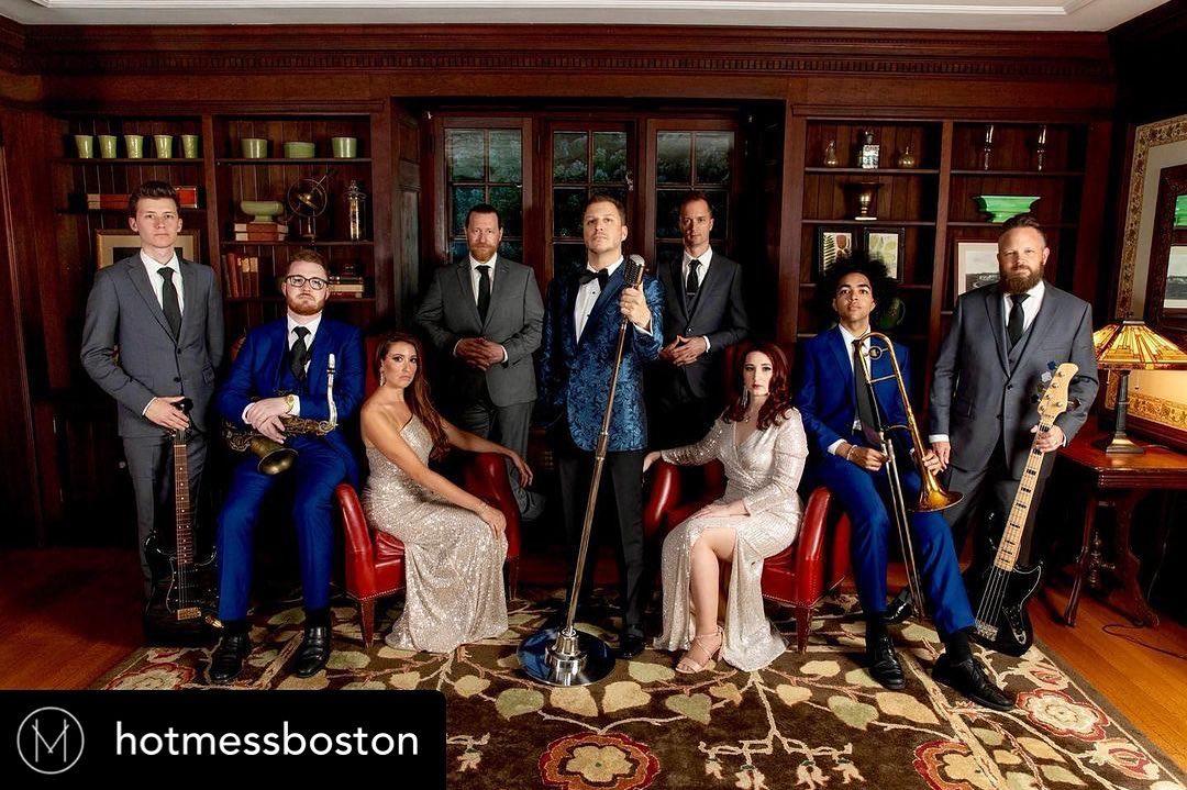 New band photo @hotmessboston @jillpersonphotography @willowdaletoday