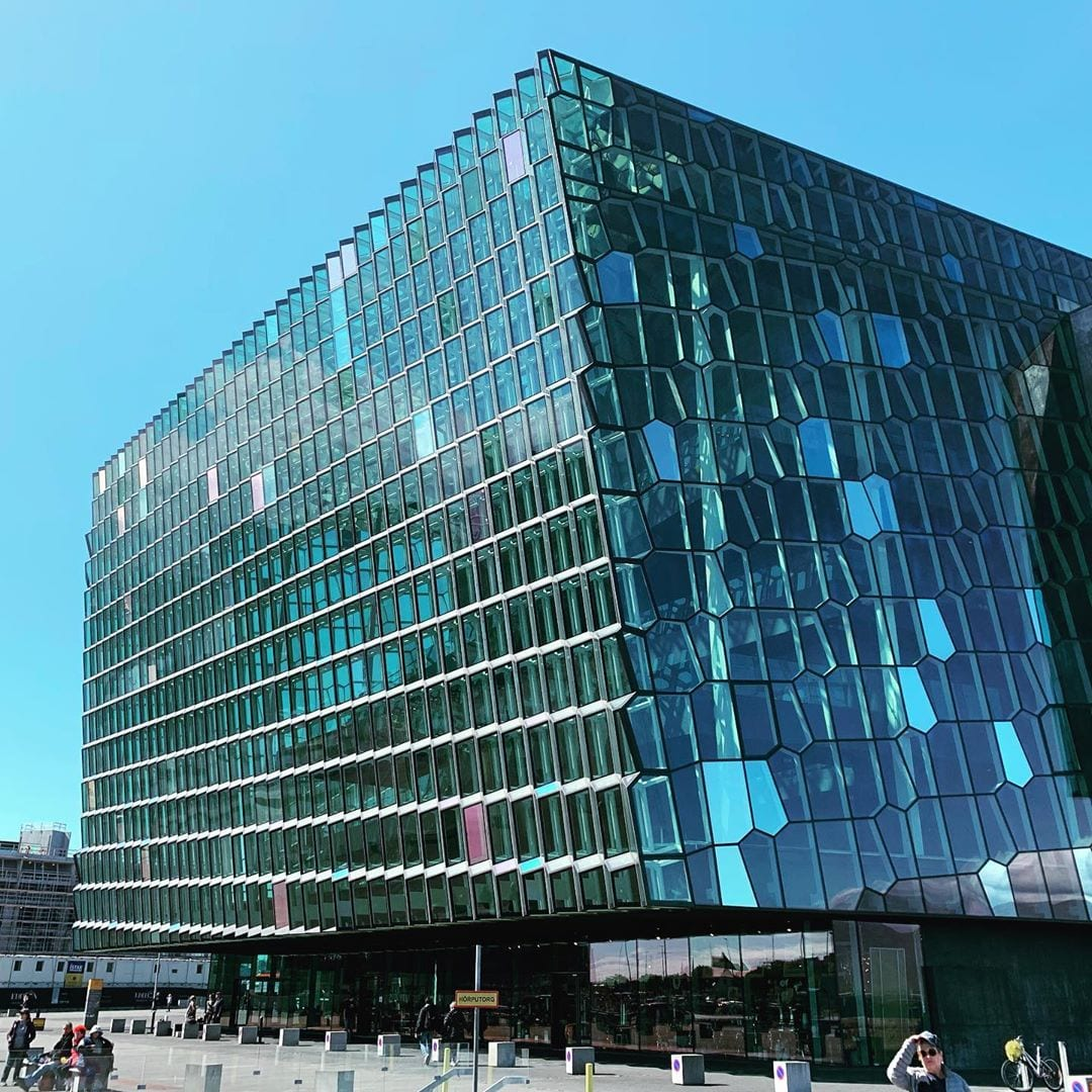 Playing at the amazing Harpa Concert Hall in Reykjavík Iceland tomorrow