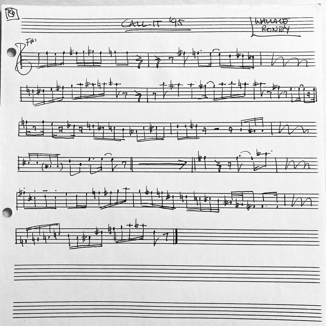 RIP Wallace Roney. 💔 This is a 🎺 transcription of Call It '95 on Herbie Hancock's album, Dis Is da Drum.
