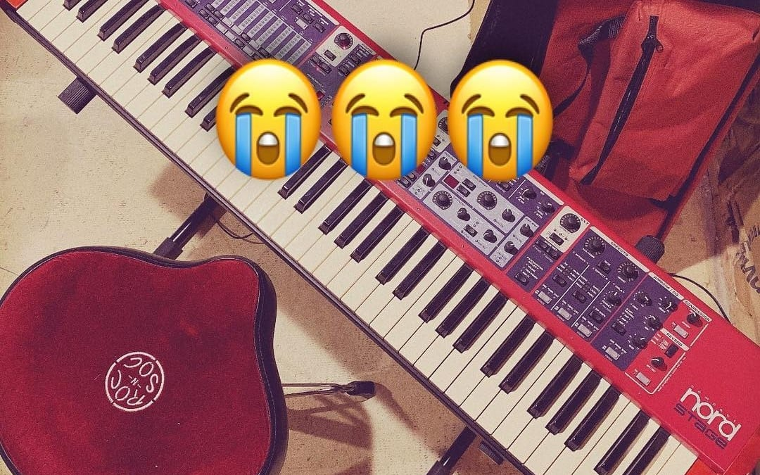 Who else gets sad when you sell old instruments?